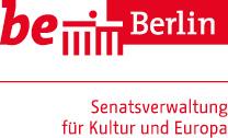 Das Logo von der Senatsverwaltung für Kultur und Europa